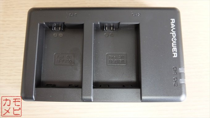 バッテリー充電器表面