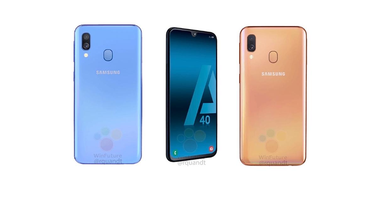 エントリーモデル Galaxy A40