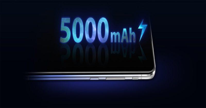 バッテリーはスマホの中では大容量の5,000mAh