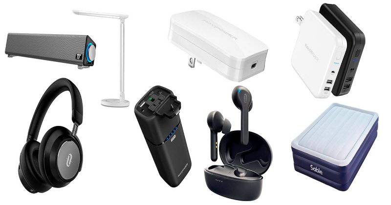 【Amazonタイムセール祭り2019年6月】RAVPowerやTaoTronicsの人気製品が最大40%オフ