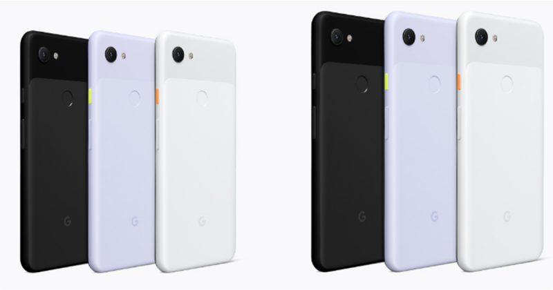 Google Pixel 3aとPixel 3a XLの詳細スペック表