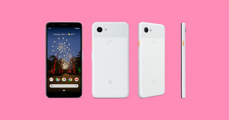 Google Pixel 3aのClearly White