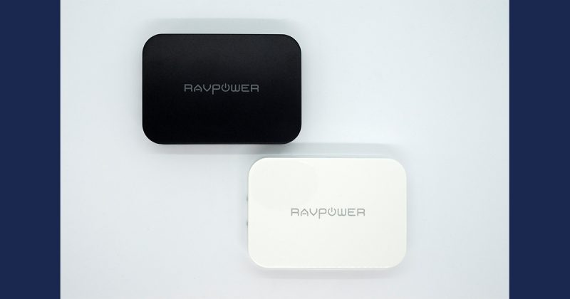 RAVPowerの業界最速最薄コンパクトボディのUSB充電器RP-PC104
