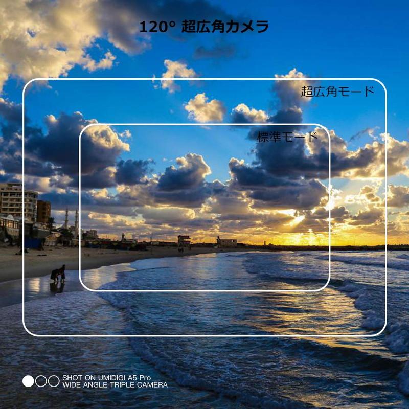 UMIDIGI A5 Proの超広角カメラ