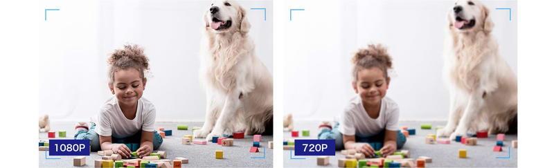 Tapo C100の撮影解像度はFHD画質に対応