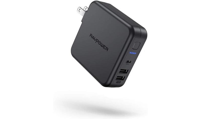 コンセントプラグ搭載でUSB充電器にもなるモバイルバッテリーRP-PB125